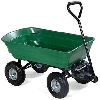 Hengda Bollerwagen Gartenwagen mit Kippfunktion