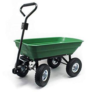 Wiltec Gartenwagen mit Kippfunktion