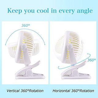 USB Ventilator Mini Clip Fan