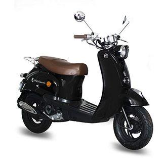 Motorroller GMX 460 Retro Classic 25 km/h schwarz