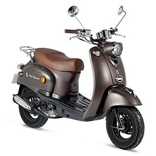 Motorroller GMX 460 Retro Classic 25 km/h braun matt- sparsames 4