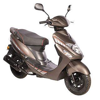 Motorroller GMX 460 Sport 45 km/h braun matt