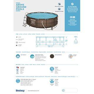 Bestway Power Steel Deluxe 366x100 cm