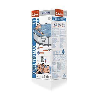 Bestway Steel Pro MAX Aufstellpool-Set