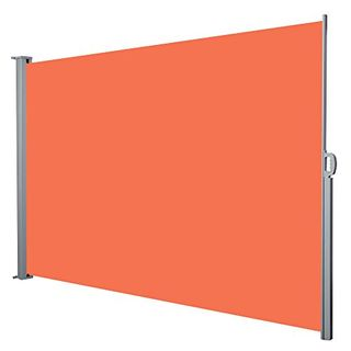 Jalano Seitenmarkise Windschutz Seitenrollo Balkon 200x300cm Farbe:orange