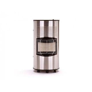 Burny Infrarot-Heizofen Sahara Inox Pro Edelstahl