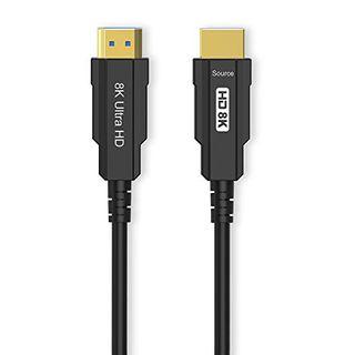 CableDeconn 8K Optic Hdmi Kabel Real UHD HDR 8K 48Gbit/s 8K@60Hz 4K@120Hz HDMI-Glasfaserkabel