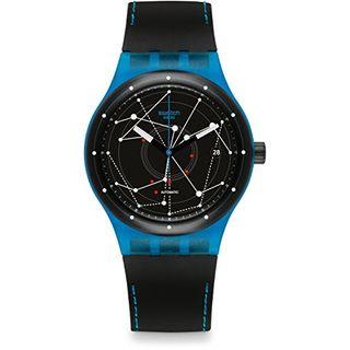 Swatch Herren Digital Automatik Uhr SUTS401