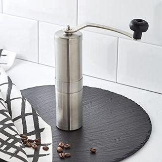 Porlex Tall Kaffee-Handmühle silber