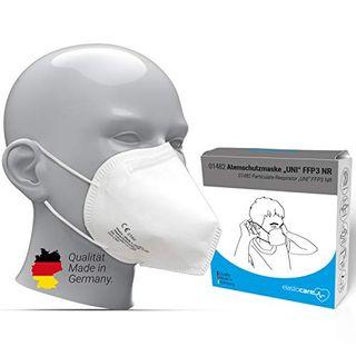 10x FFP3 Atemschutzmaske CE-Zertifiziert Made IN Germany FFP3