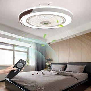 HYKISS LED Deckenventilator mit LED