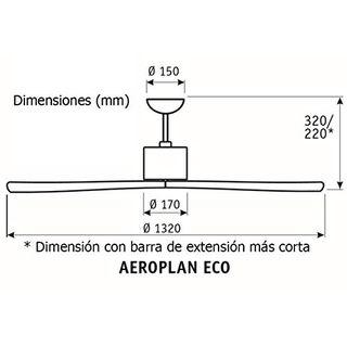 CasaFan Deckenventilator Aeroplan Eco Deckengerät