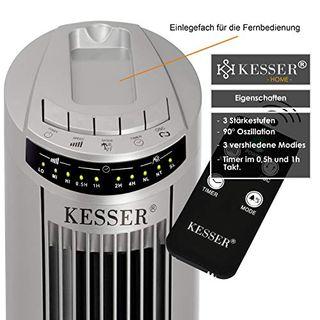 KESSER Turmventilator mit Fernbedienung