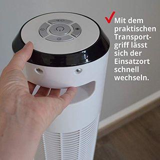 Hecht Turm-ventilator leise mit 60 Watt