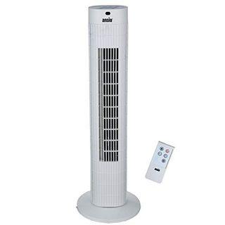 ANSIO Oszillierender Turmventilator mit Fernsteuerung- Säulenventilator