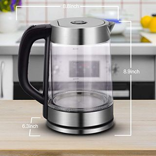 Surophy Glas Wasserkocher