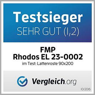 FMP Matratzenmanufaktur 23-0002 7 Zonen Lattenrost Rhodos EL