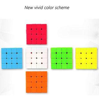 Maomaoyu Zauberwürfel 4x4 4x4x4 Original Speed Stickerless Magic