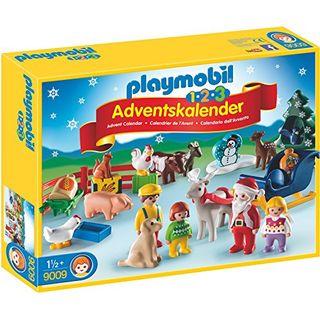 Playmobil 9009 1.2.3 Adventskalender Weihnacht auf dem Bauernhof