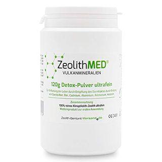 Zeolith MED Detox-Pulver ultrafein 120g
