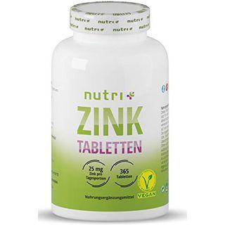 Nutri + Zink Tabletten 25mg