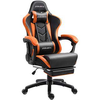 Dowinx Gaming Stuhl Ergonomischer Racing Stil Lehnstuhl