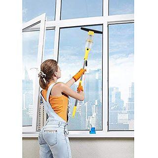 MVPower Fensterreiniger Akku Fenstersauger