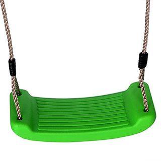 Schaukelsitz Schaukelbrett Kunststoff Farbe grün von Gartenpirat