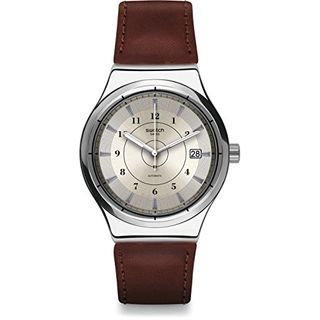 Swatch Herren Analog Automatik Uhr YIS400