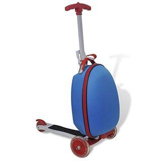 vidaXL Kinderscooter Reisekoffer Trolley Roller Handgepäck