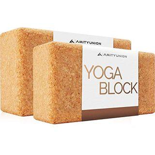 Yoga Block 2er SET Kork 100% Natur