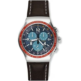 Swatch Herren Chronograph Quarz Uhr YOS454