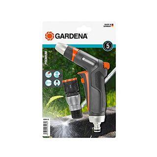 Gardena Premium Reinigungsspritzen-Set: Robuste Reinigungsspritze und Wasserstop-Anschlussstück