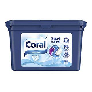 Coral Waschmittel 3in1 Caps White