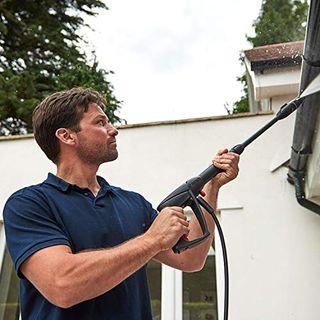 Bosch Hochdruckreiniger UniversalAquatak 125 (2 x Düse, transparenter Wasserfilter, Hochdruckpistole, 5 m Schlauch, 5 m Kabel, Karton, 1500 Watt, Druck: 125 bar, max. Fördermenge: 360 l/h)