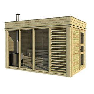 Finnische Sauna Cube