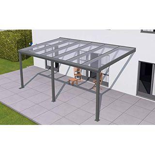 solidPREMIUM 506x350 cm BxT ALU Terrassenüberdachung Anthrazit