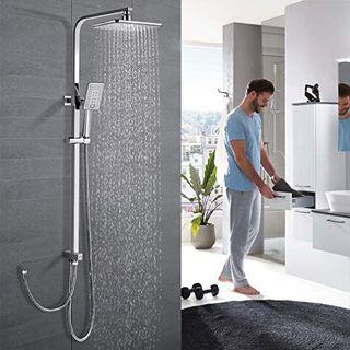 WOOHSE Duschsystem ohne wasserhahn
