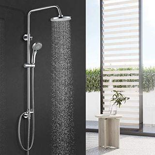 BONADE Duschsystem Duschsäule ohne Wasserhahn