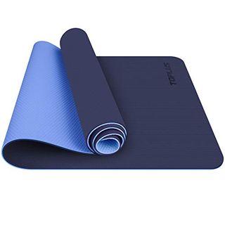 TOPLUS Gymnastikmatte Yogamatte Yogamatte Gepolstert & rutschfest