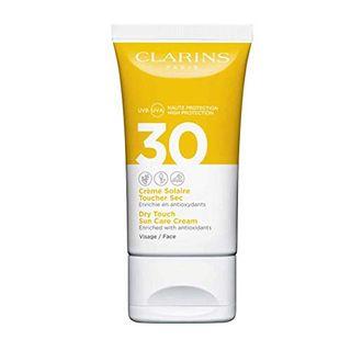 Clarins Crème Solaire Toucher Sec Visage LSF 30 Sonnencreme