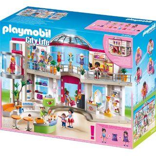 Playmobil 5485 Shopping-Center mit Einrichtung