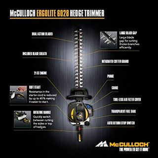 McCulloch ErgoLite 6028
