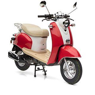 Nova Motors Retro Star ie 50 rot-weiß Euro 4