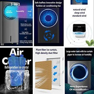 MMZZ 3in1 Mobile Klimaanlage