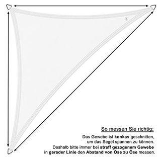 Terra Marken Sonnensegel Dreieck