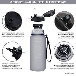 """Trinkflasche """"uberBottle"""" von 720°DGREE-1L"""