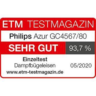 Philips GC4567/80 Dampfbügeleisen Azur