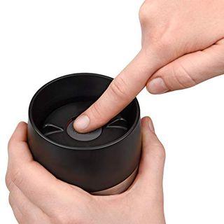 Emsa Isolierbecher Travel Mug Edelstahl 500 ml