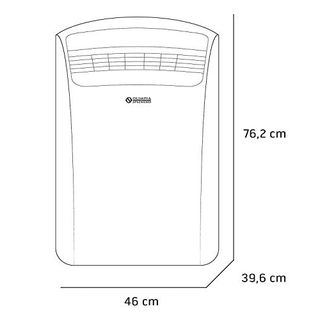 Olimpia Splendid 01920 Dolceclima Silent 10 P Mobiles Klimagerät 10.000 BTU